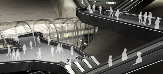 Connections: A Redesign for Bond Street Station, London