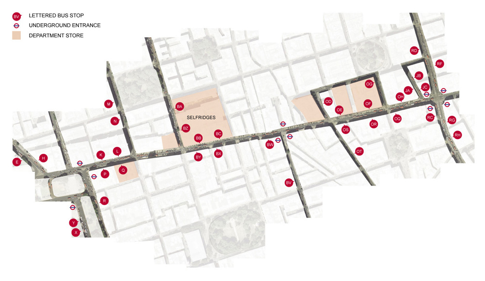 Connections: A Redesign for Bond Street Station by Emmet Truxes