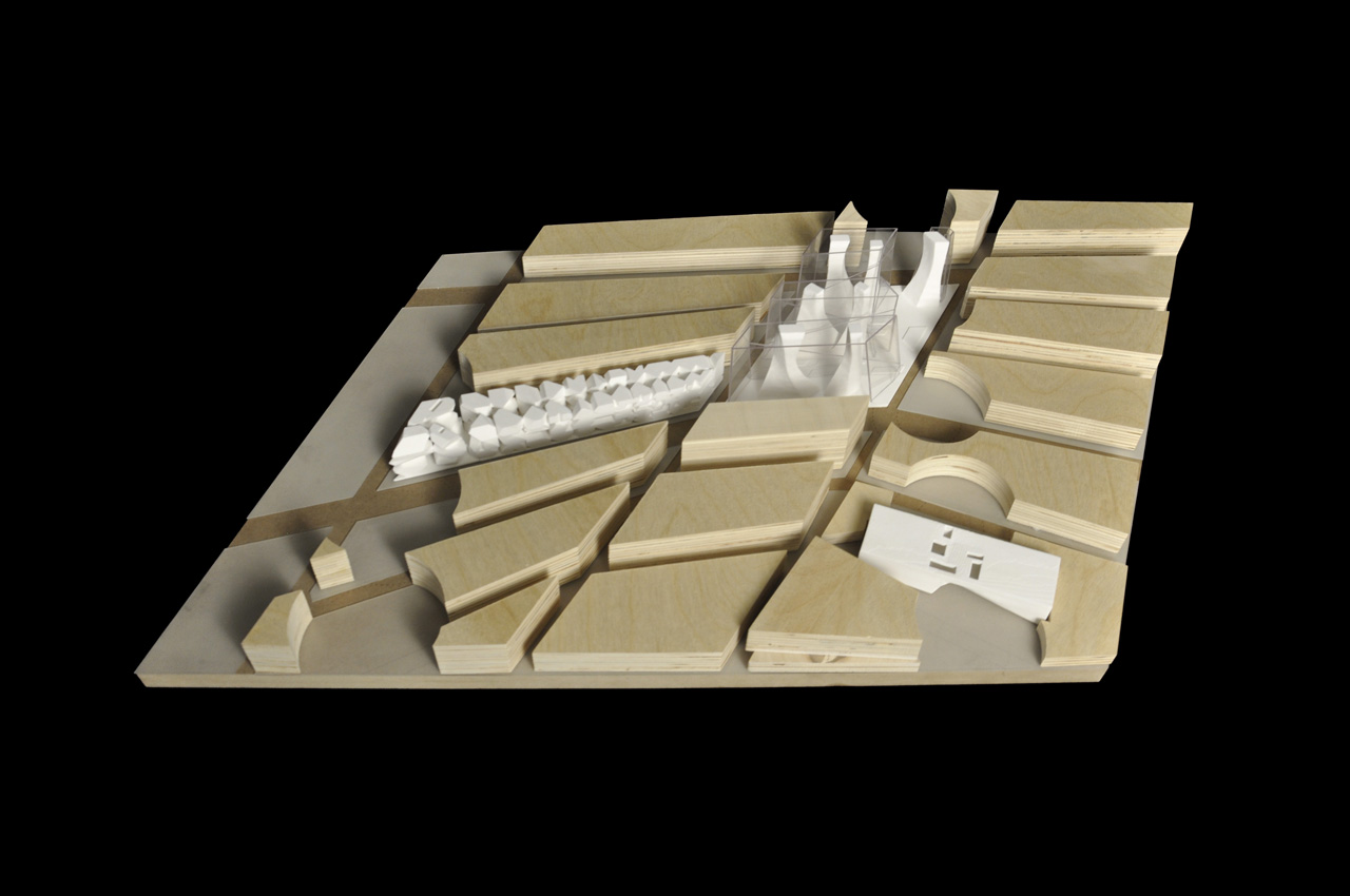 Queens Station by Emmet Truxes, site model