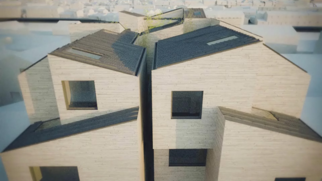 Hill and Water House by Emmet Truxes, animation still