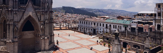 Quito Centro Histórico: Urban Legibility and Rhythm Analysis via Timelapse Photography