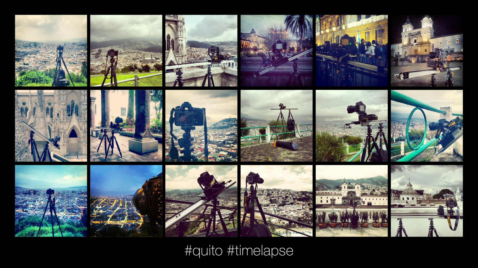 Quito Centro Historico_Site Analysis via Motion-controlled Timelapse Photography