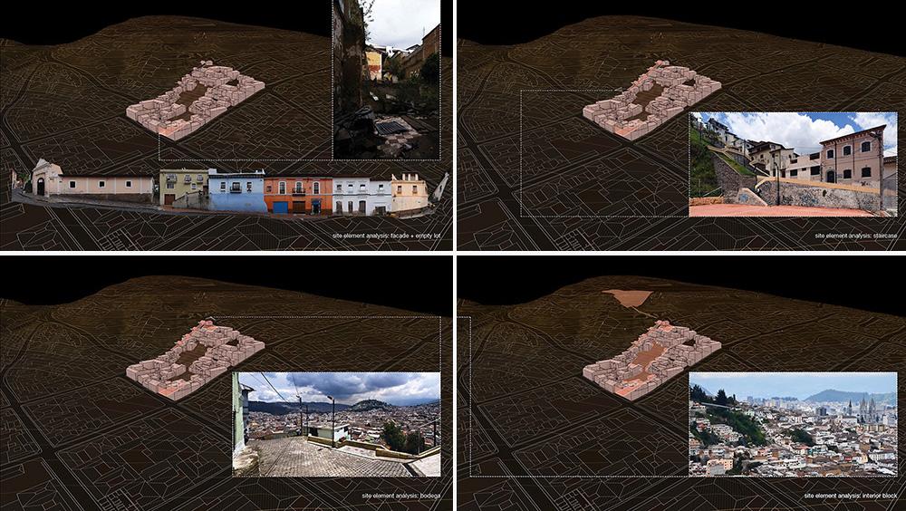 Quito Centro Historico_Site element analysis