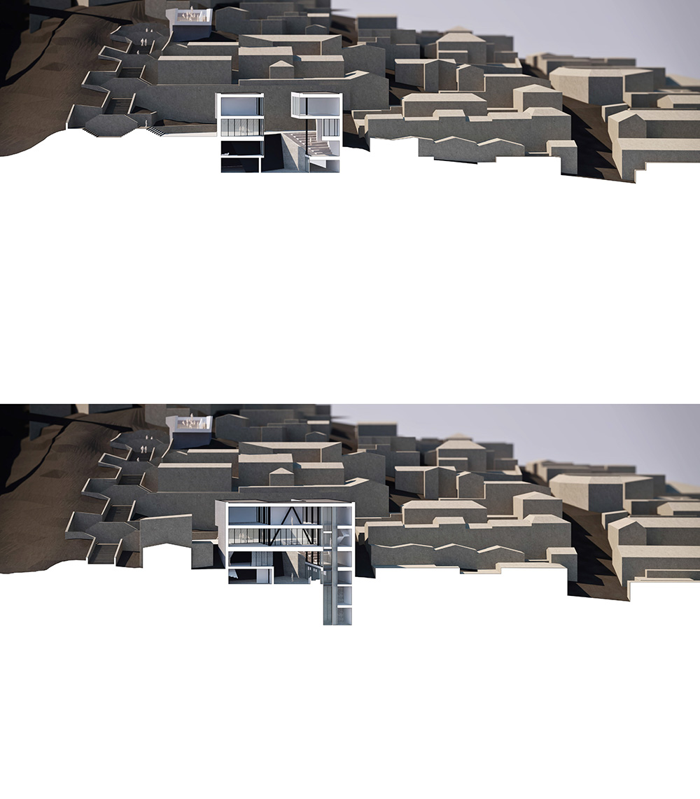 Architectural intervention_Sections